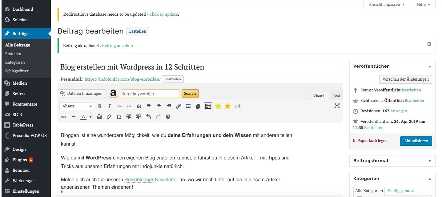 Wordpress-Blog-erstellen
