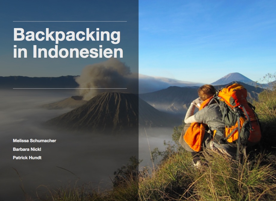 backpacking indonesien