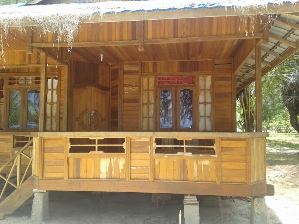 Die Bungalows aus Holz
