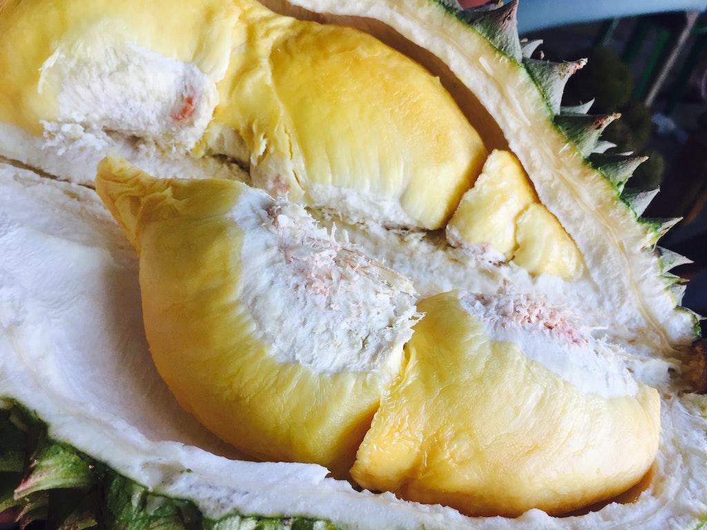 durian-fruchtfleisch