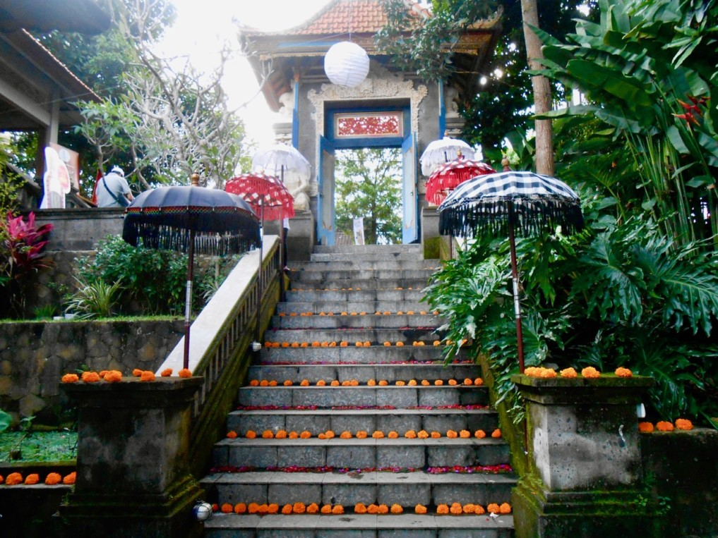 Eingang Ubud Food Festival