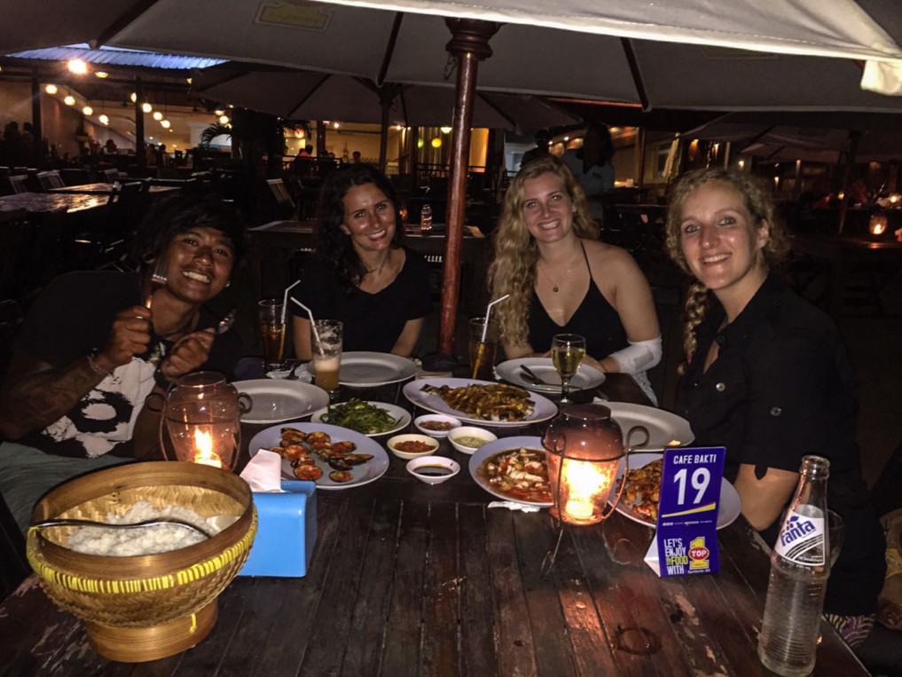 Erfahrungsbericht Leben auf Bali: Fischrestaurant Jimbaran