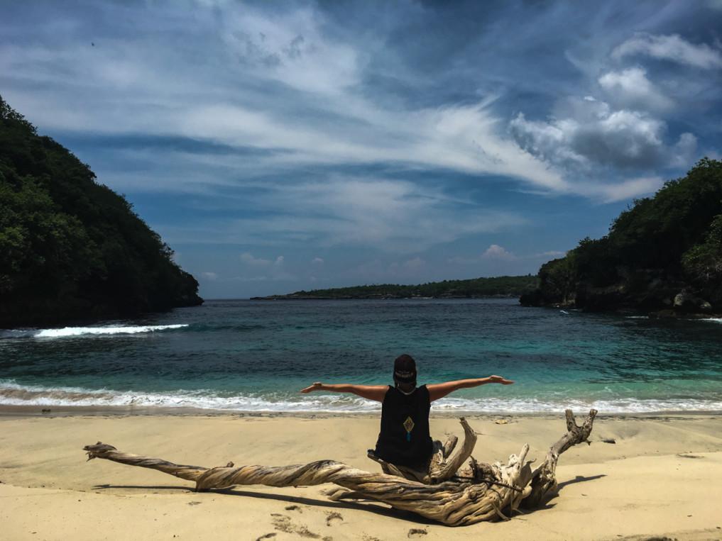 Erfahrungsbericht Leben auf Bali: Strand in Nusa Penida
