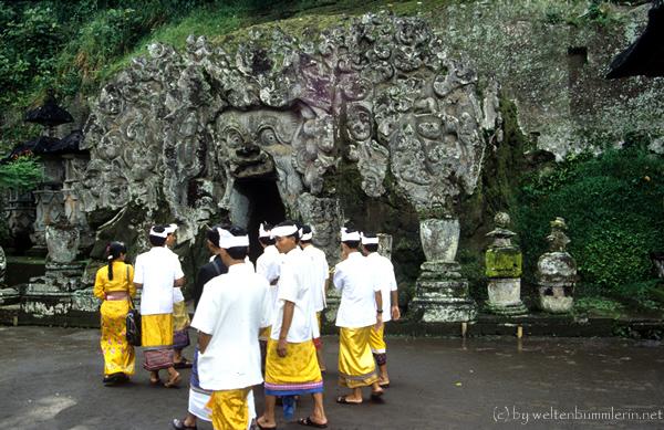 Elefantenhöhle Goa Gajah in Bali