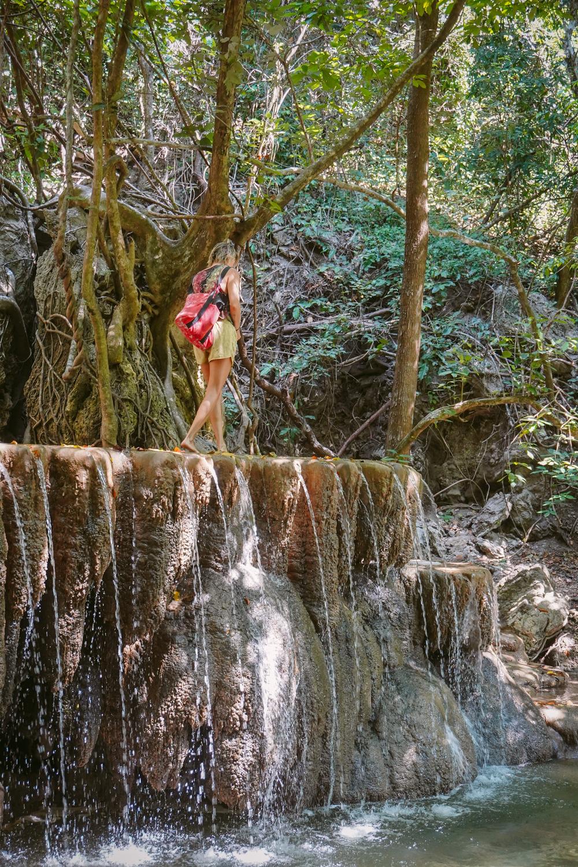 Mata Jitu Wasserfall moyo island