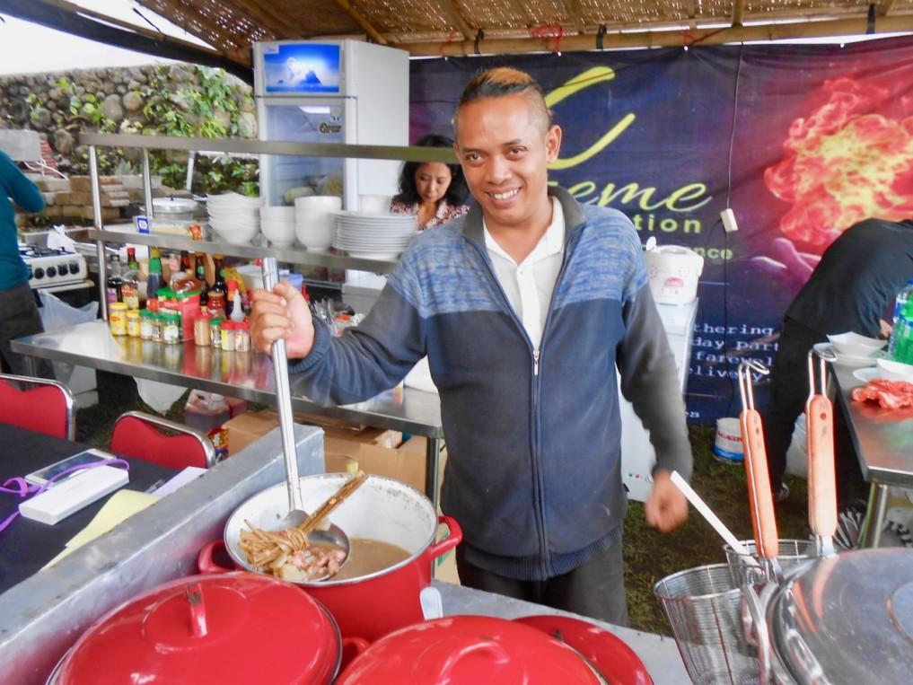 Javanisches Essen Ubud Food Festival 2017