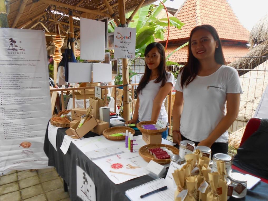 Kokosnuss Öl Nusa Penida Balibud Food Festival 2017