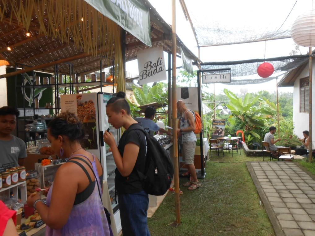 Marktbuden Ubud Food Festival 2017