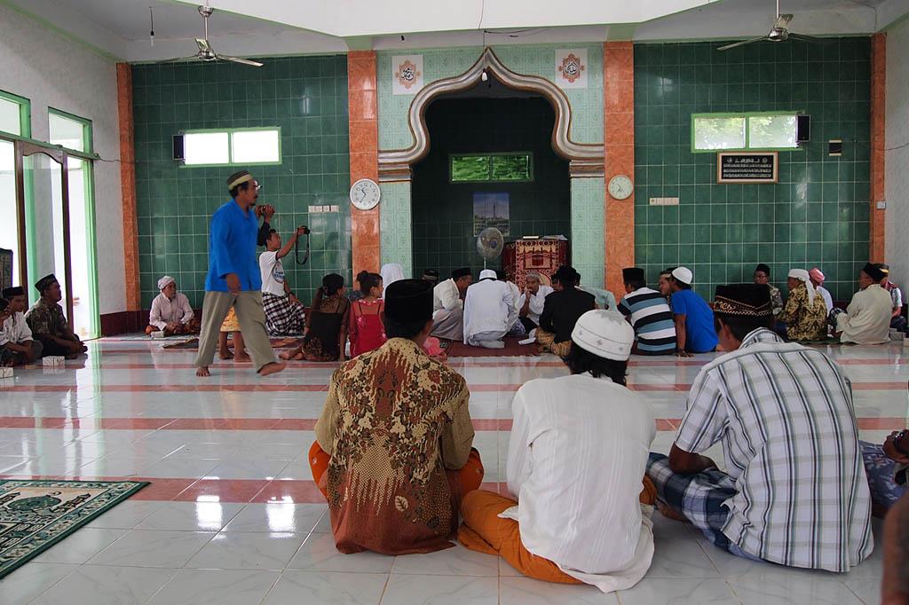 Trauung in der Moschee