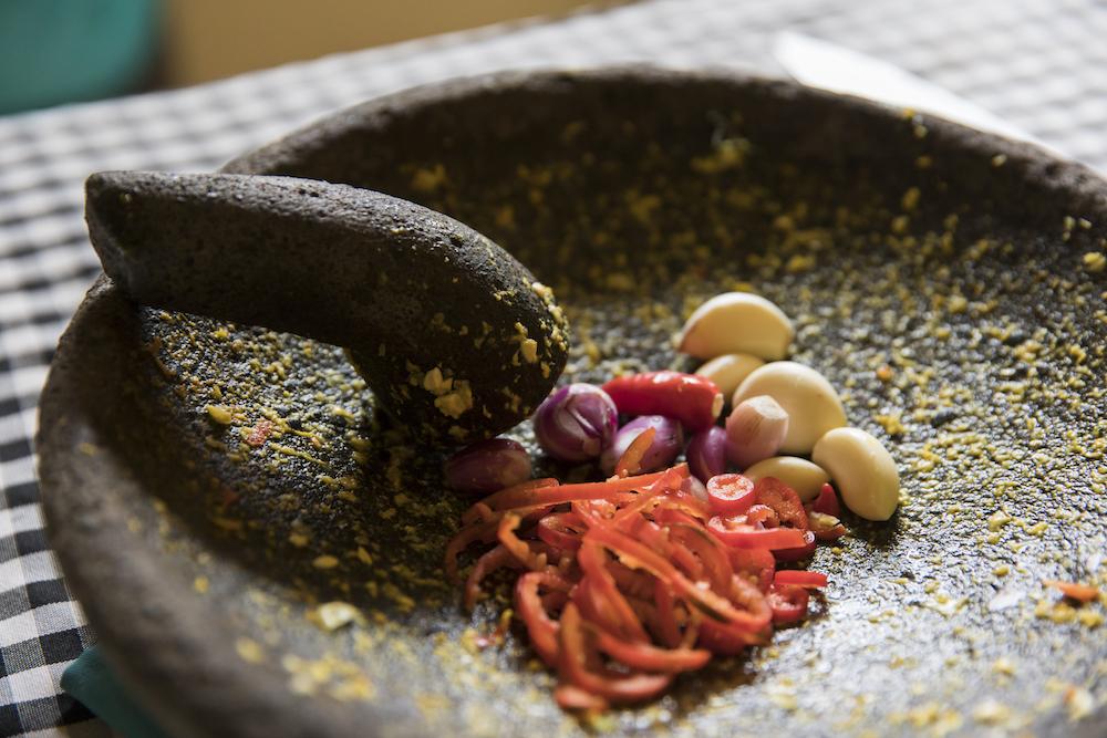 mörser-sambal