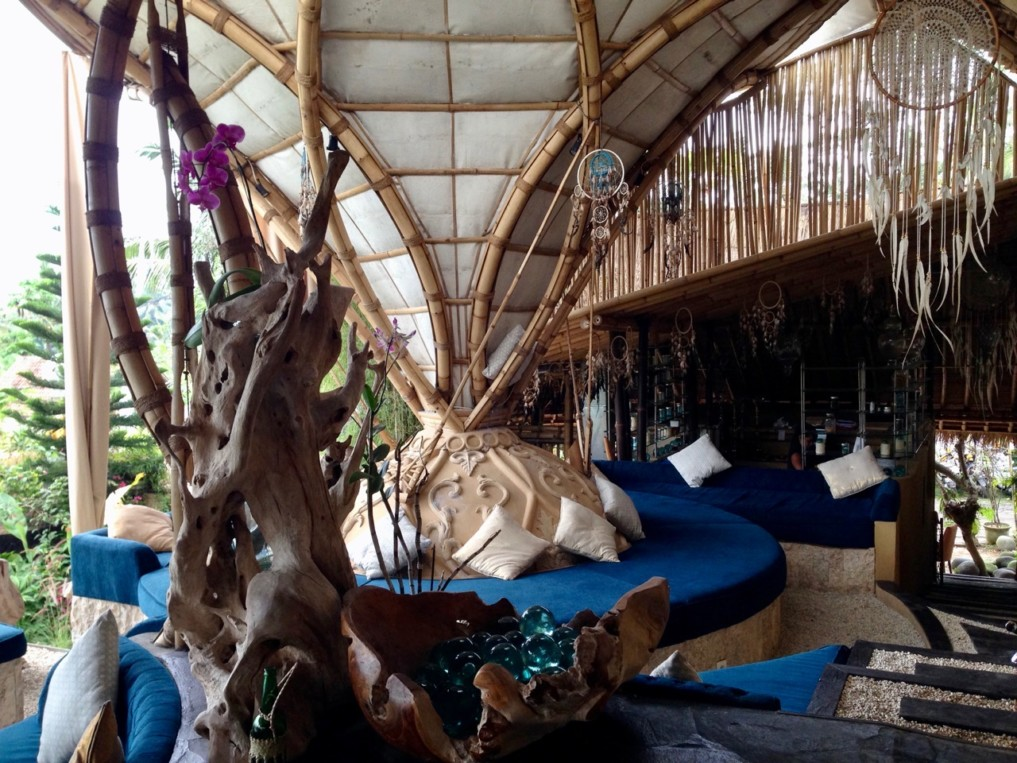 NewEarth Festival in Ubud Lounge Sofas Chill Out