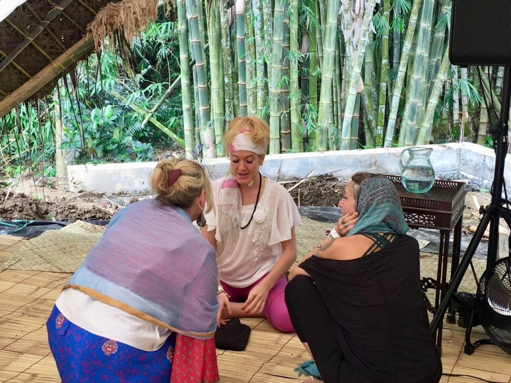 NewEarth Festival in Ubud Mediationslehrerin