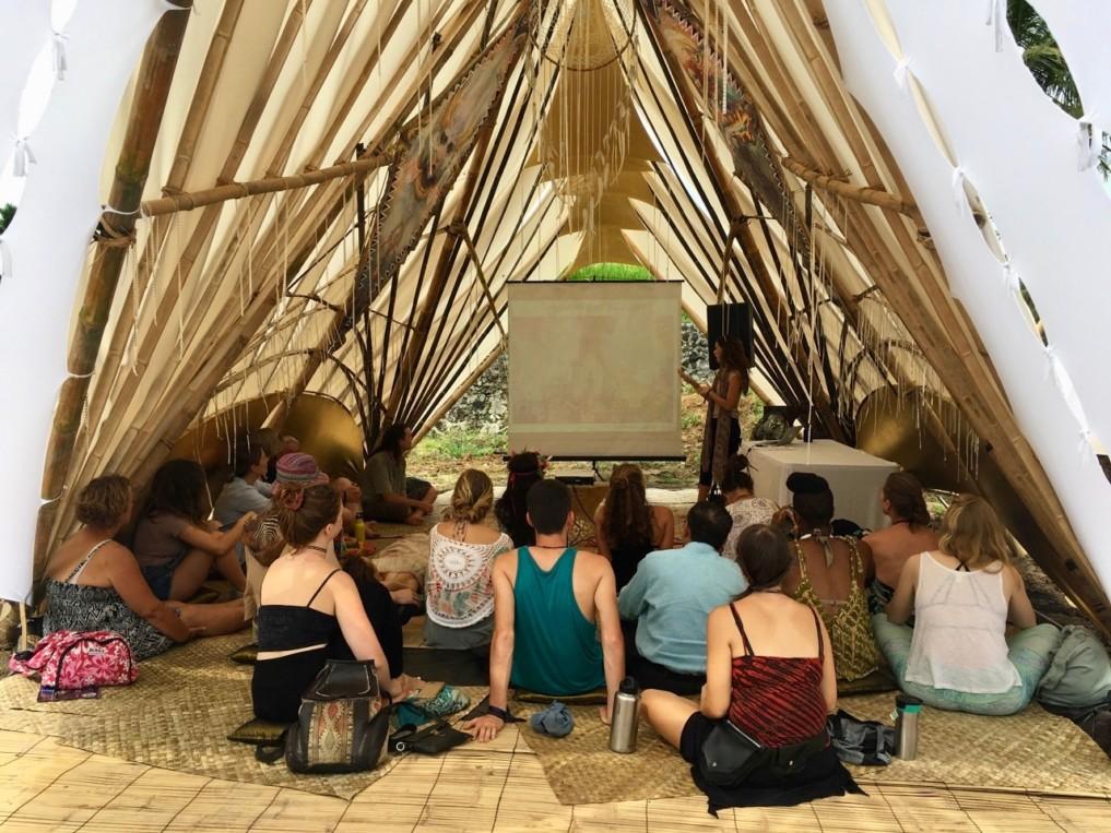 NewEarth Festival in Ubud Workshop