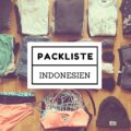 packliste Indonesien