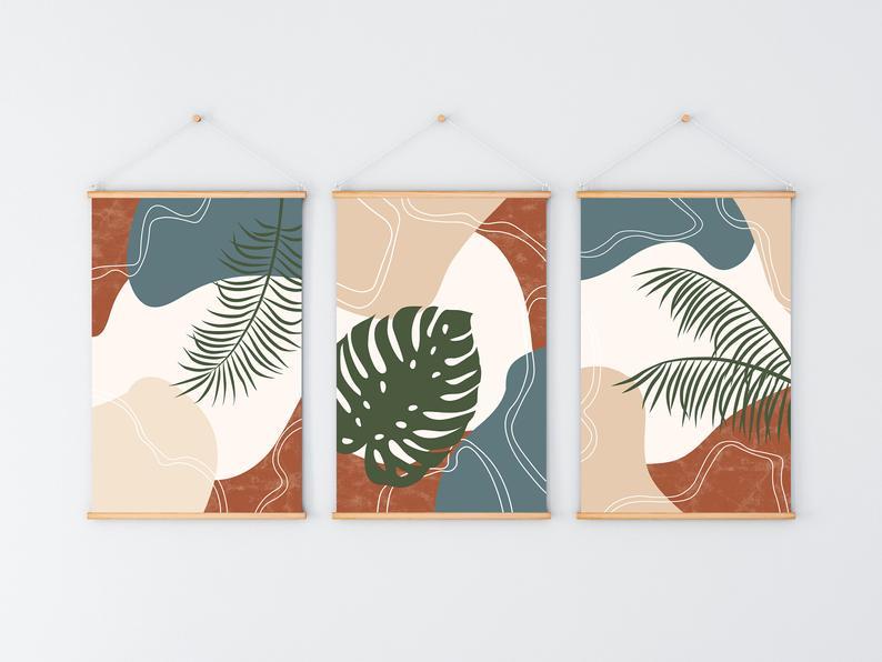 poster-tropisches-wohnzimmer-1