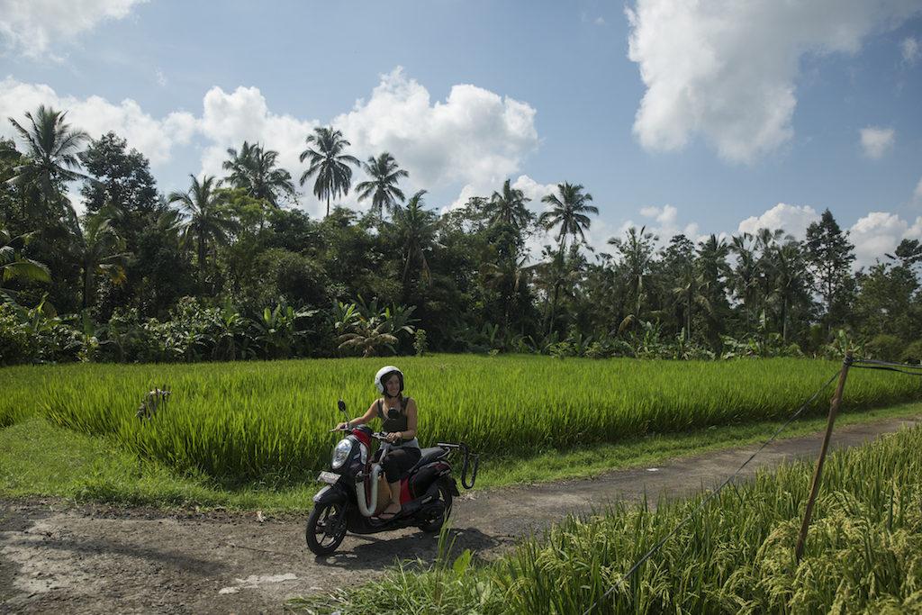 roller-fahren-indonesien