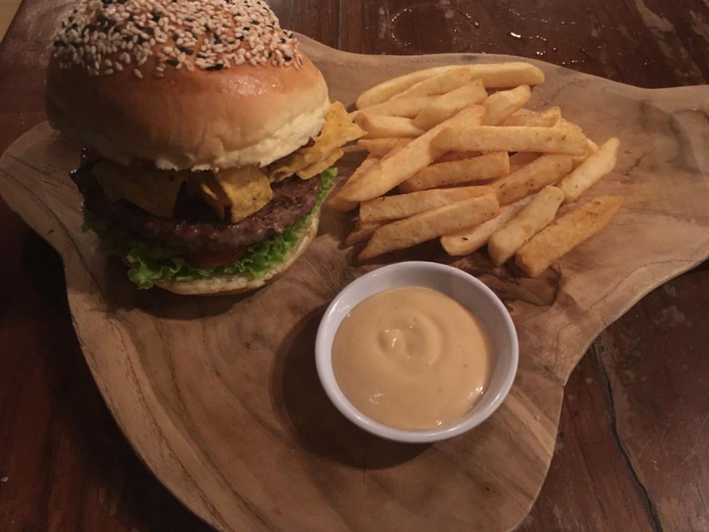 Seminyak Bali Burger bei Wacko
