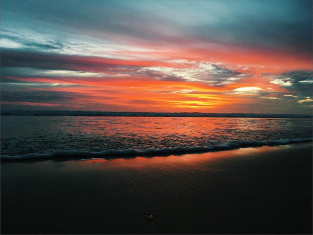 Seminyak Bali Sonnenuntergang