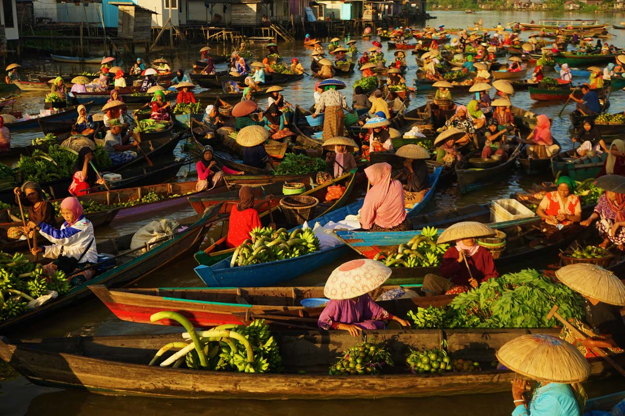 Südkalimantan Floating Market