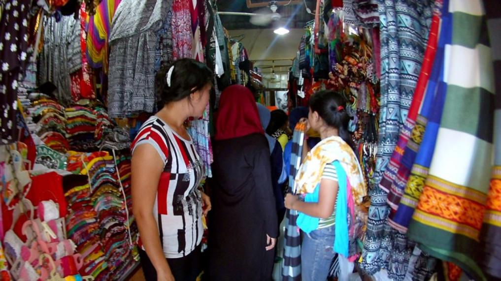 Sukawati Bali Kunstmarkt