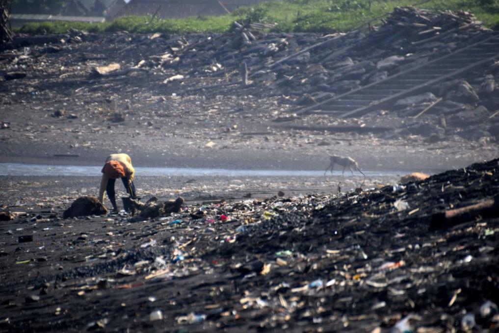 Ketewel Beach Müllproblem