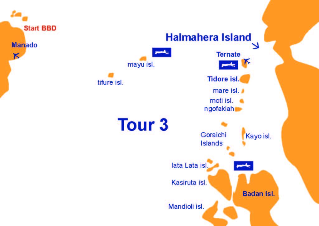 tour karte halmahera