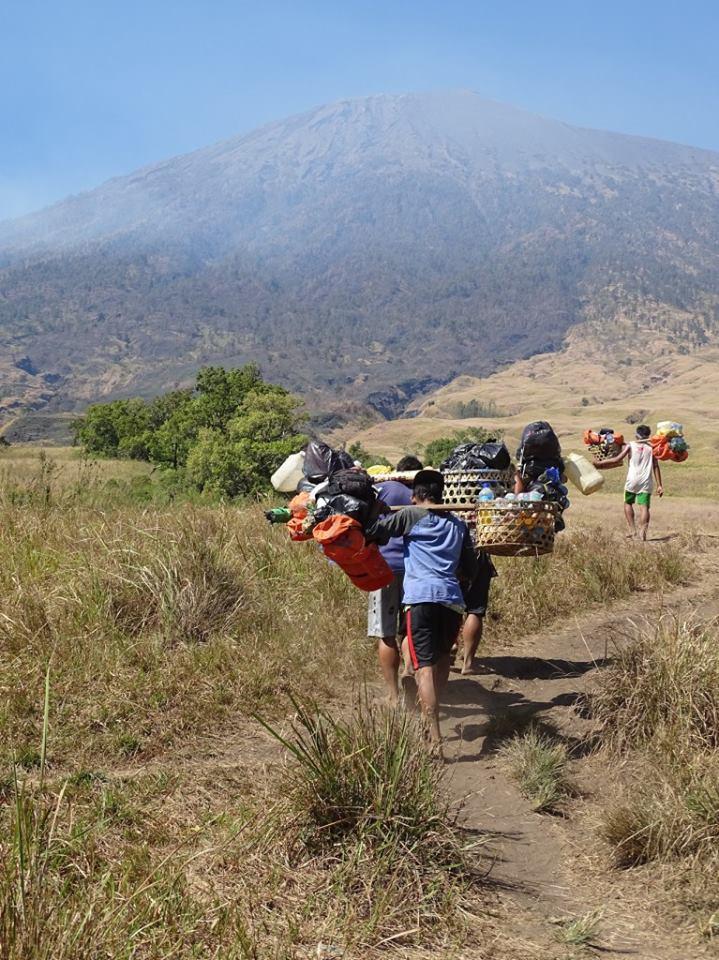 trips-4-lovers.de Blick von Sembalun auf den Gunung Rinjani