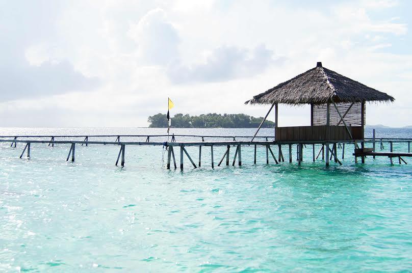 Wasserbungalows auf Karimunjawa